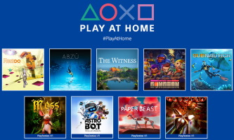 Play at Home (10 jeux PS4 gratuits)