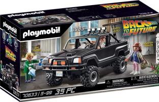 """4x4 Playmobil de Marty """"Retour vers le futur"""""""