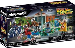 "Playmobil ""Retour vers le futur II : la course d'hoverboard"""
