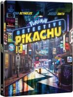 Pokémon : Détective Pikachu édition steelbook (blu-ray 4K)