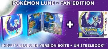 Pokémon Lune édition fnac (3DS)