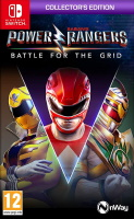 Power Rangers: Battle for the Grid édition collector (Switch)