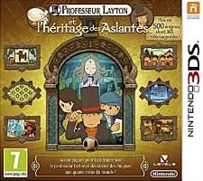 Professeur Layton et l'héritage des Aslantes (3DS)