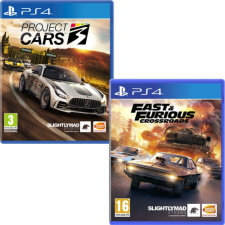 Project Cars 3 + Fast & Furious: Crossroads (PS4)