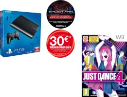 PS3 12 Go + Just Dance 4
