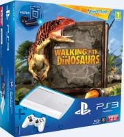 PS3 12 Go blanche + Pack Découverte Move + Wonderbook + Wonderbook : Sur la terre des dinosaures