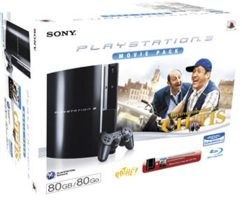 Console PS3 pack Bienvenue chez les ch'tis