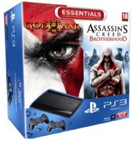 PS3 12 Go + God of War 3 + Assassin's Creed Brotherhood