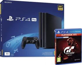 PS4 Pro 1 To noire + Gran Turismo Sport