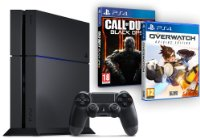 PS4 500 Go + Call of Duty Black Ops III + Overwatch