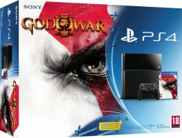 Console PS4 + God of War III Remastered