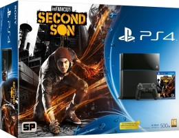 Pack PS4 500 Go + inFamous Second Son
