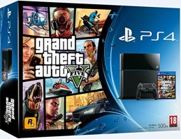 "Console PS4 pack ""GTA V"""