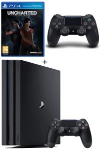 PS4 Pro 1 To + 2 manettes + Uncharted : The Lost Legacy
