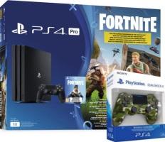 "PS4 Pro pack ""Fortnite"" + DualShock 4 supplémentaire"