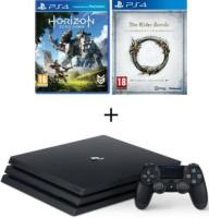 PS4 Pro 1 To + Horizon Zero Dawn + The Elder Scrolls Online