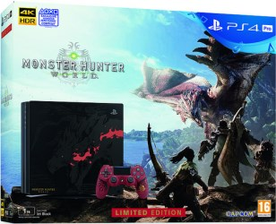 "PS4 Pro édition limitée ""Monster Hunter World"""