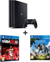PS4 Pro 1 To + Horizon Zero Dawn + NBA 2K16