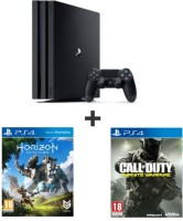 PS4 Pro 1 To + Horizon Zero Dawn + Call of Duty : Infinite Warfare