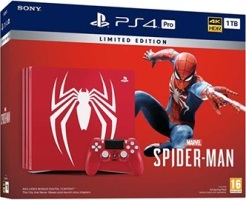 PS4 Pro édition limitée Marvel's Spider-Man