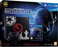 "PS4 Pro édition limitée ""Star Wars : Battlefront II"""