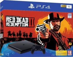 """PS4 Slim 1 To pack """"Red Dead Redemption II"""""""