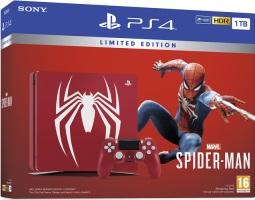 PS4 Slim édition limitée Marvel's Spider-Man