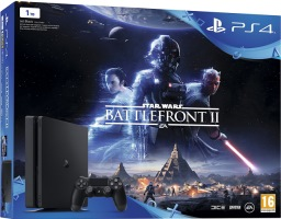 "PS4 Slim 1 To pack ""Star Wars Battlefront II"""