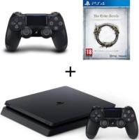 PS4 Slim + 2 manettes + The Elder Scrolls Online