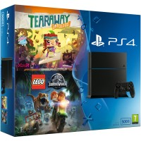 PS4 500 Go Lego Jurassic World + Tearaway