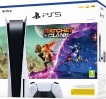 "PS5 pack ""Ratchet & Clank: Rift Apart"""