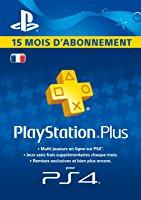 Abonnement 15 mois PlayStation+