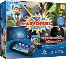 "PS Vita 2000 pack ""Adventure Mega Pack"""