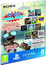 Carte mémoire PS Vita 8 Go + 10 jeux dématérialisés