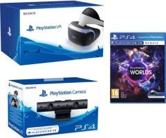 Casque PlayStation VR + caméra + VR Worlds