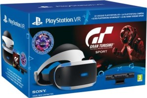 Pack PlayStation VR + Caméra + VR Worlds + Gran Turismo Sport