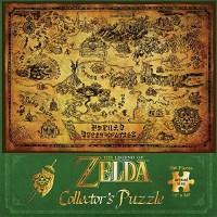 """Puzzle Zelda """"Carte d'Hyrule"""" de 550 pièces"""
