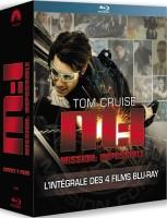 Quadrilogie Mission : Impossible [blu-ray]