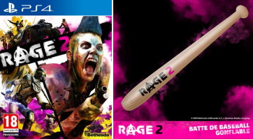 Rage 2 (PS4) + batte de baseball offerte