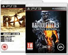 Battlefield 3 édition limitée + Rage édition anarchy (PS3)