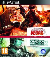 Double Pack Rainbow Six: Vegas 2 + Ghost Recon Advanced Warfighter 2 (PS3)