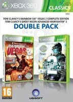 Double Pack Rainbow Six: Vegas 2 + Ghost Recon Advanced Warfighter 2 (Xbox 360)
