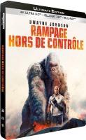 Rampage : Hors de contrôle édition steelbook (blu-ray 4K)