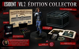 Resident Evil 2 édition collector (PS4, Xbox One)