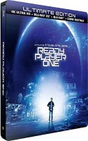 Ready Player One édition steelbook (blu-ray 4K)
