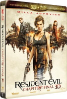 Resident Evil : Chapitre final édition steelbook (blu-ray 3D)