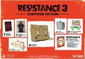 Resistance 3 édition survivor (PS3)