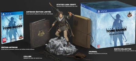 Rise of the Tomb Raider : 20ème anniversaire édition collector (PS4)