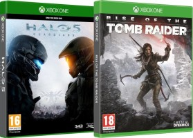 Rise of The Tomb Raider + Halo 5 Guardians (Xbox One)