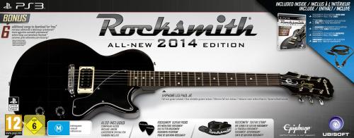Rocksmith 2014 + guitare (PS3)